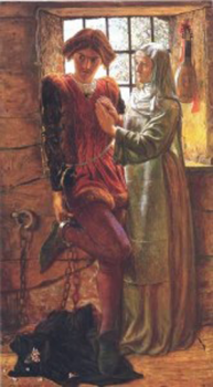 An image of Claudio and Isabella from Measure to Measure