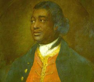A portrait of Ignatius Sancho