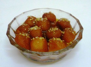 A photo of Gulab Jambu