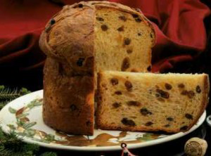 A photo of Panettone