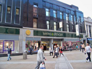 A photo of a Marks and Spencers store