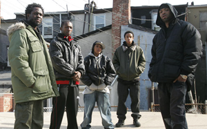 A photo of the cast from The Wire