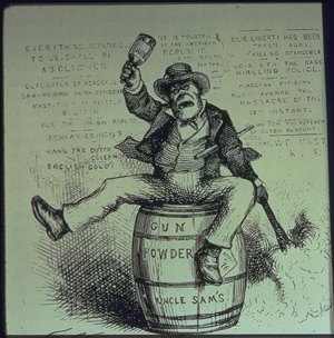 An anti-Irish political cartoon