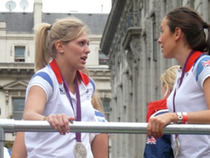 A photo of Gemma Gibbons and Samantha Murray