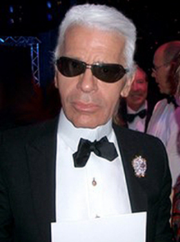 A photo of Karl Lagerfeld