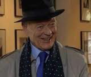 A photo of Coronation Street's Ted Page