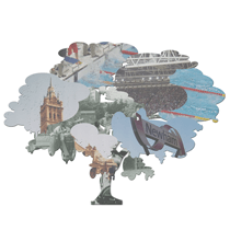 Composite collage icon for Newham Family Tree