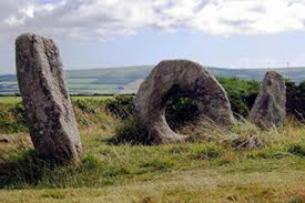 Photograph of Celtic Standing stones