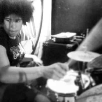 a photo of afrika green drumming